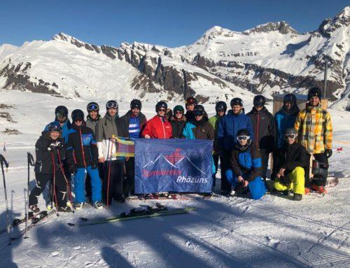 Alles fährt Ski: Skiwochenende Splügen