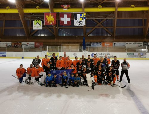 Interner Plauschhockeymatch